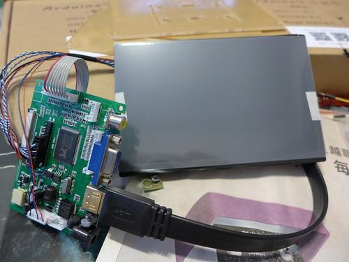 7吋 IPS LCD 螢幕 & 樹莓派