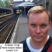 North Dulwich Station Selfie by troy david johnston