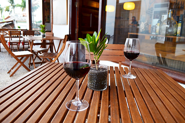 wine outside, La Vinoteca, Puerto de la Cruz, Tenerife