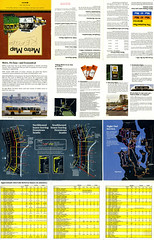 Seattle Metro bus system information (1983)