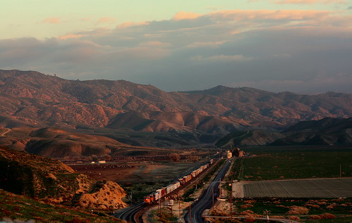 california railroad sunset train bnsf burlingtonnorthernandsantaferailroad