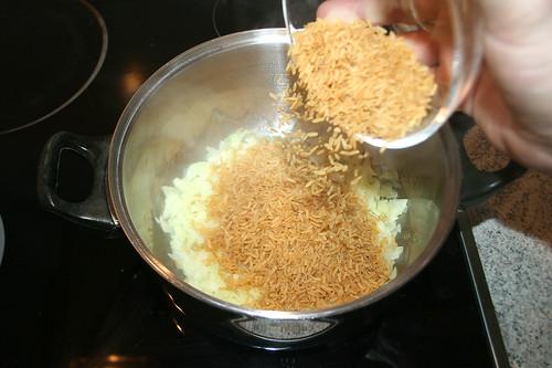 14 - Reis hinzufügen / Add rice