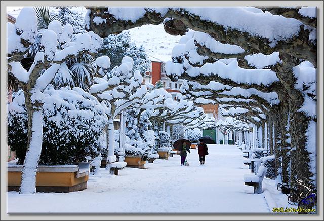 3 Primera nevada en Briviesca 2015