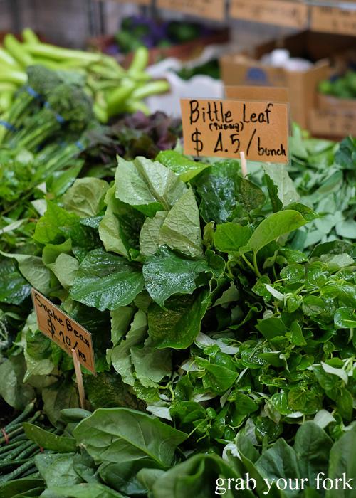 Betel leaves at Jarern Chai Asian Grocer, Sydney