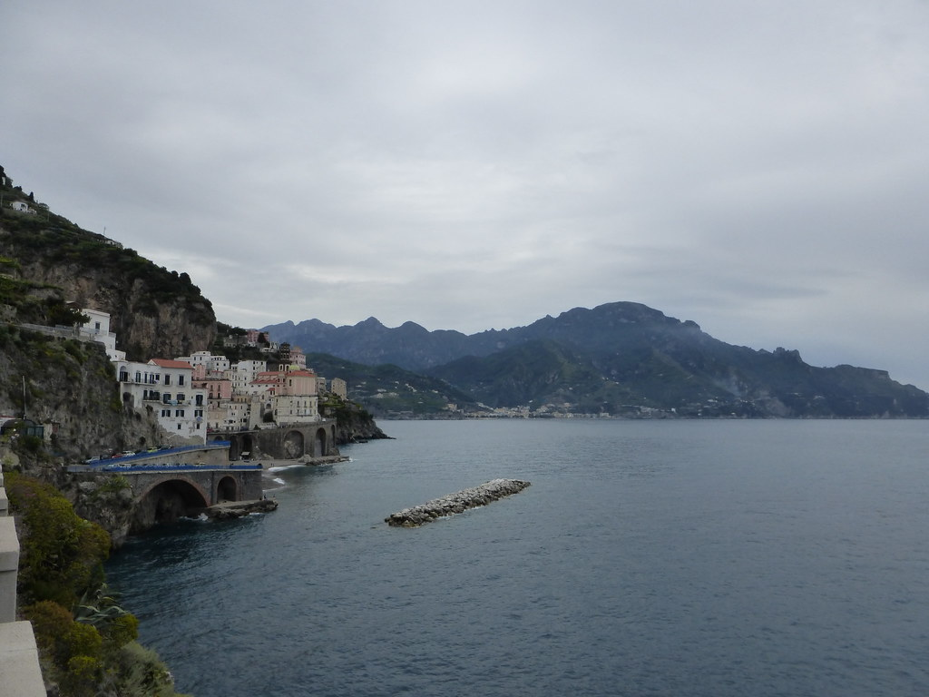 Heading toward Atrani
