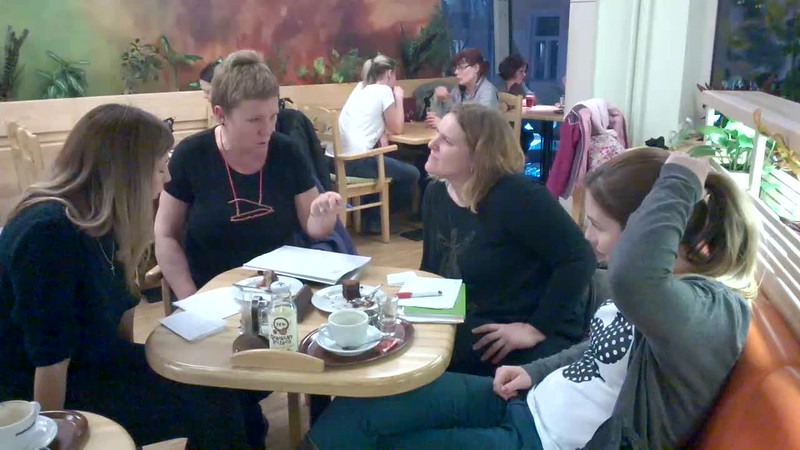 English lesson with expat women