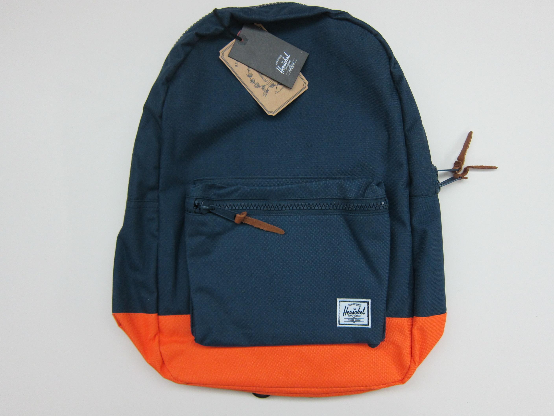 6f4da2d62f57 Herschel Supply Settlement Backpack (Navy Mandarin) « Blog ...