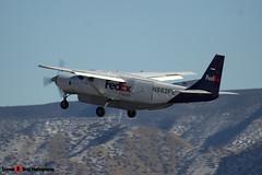 N882FE - 208B0208 - FedEx Feeder - Cessna 208B Grand Caravan - Albuquerque, New Mexico - 141229 - Steven Gray - IMG_1505