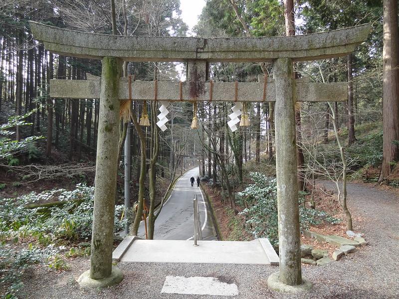 猿丸神社 裏参道(2)