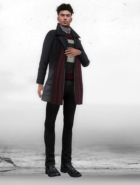 Howl - Henrik scarf coat [BG]