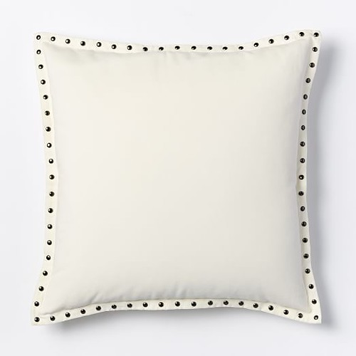 wed white pillow