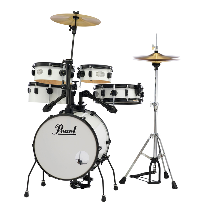 drum set pear rhythm traveler white
