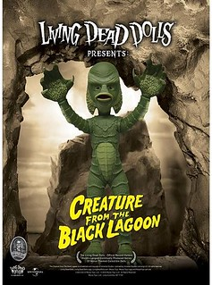 MEZCO Living Dead Dolls 系列【黑湖妖潭】半魚人 Creature from the Black Lagoon