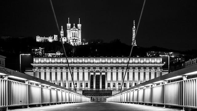 Le Palais de Justice, Lyon