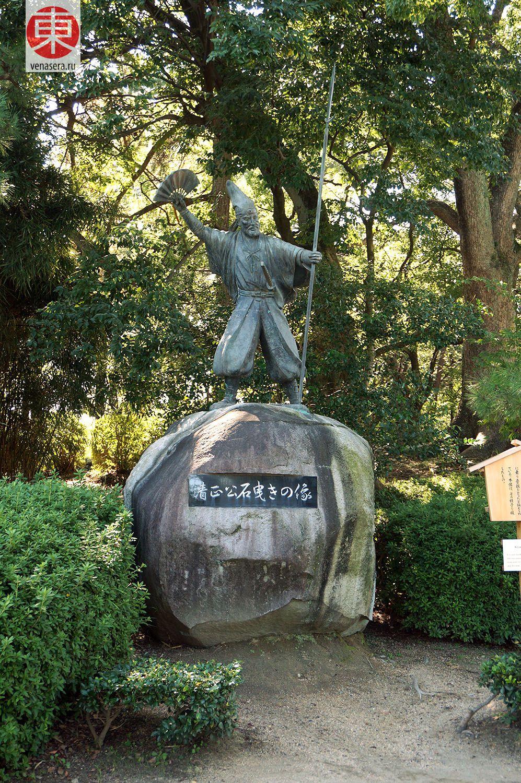 Замок Нагоя: сад