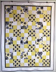 I'm Just Mad About Citron quilt, first look