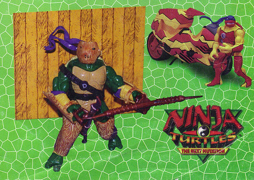 LEE'S TOY REVIEW #xx ::  pg.x TOY FAIR '98 - PLAYMATES'S 'ZORRO' & NT: THE NEXT MUTATION. Turtleflage & SHADOW NINJAS / 'TURTLEFLAGE' Don & Leo's Camo Blitz Bike  (( xx 1998 ))