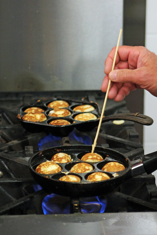 Danish Ebelskiver Pancakes