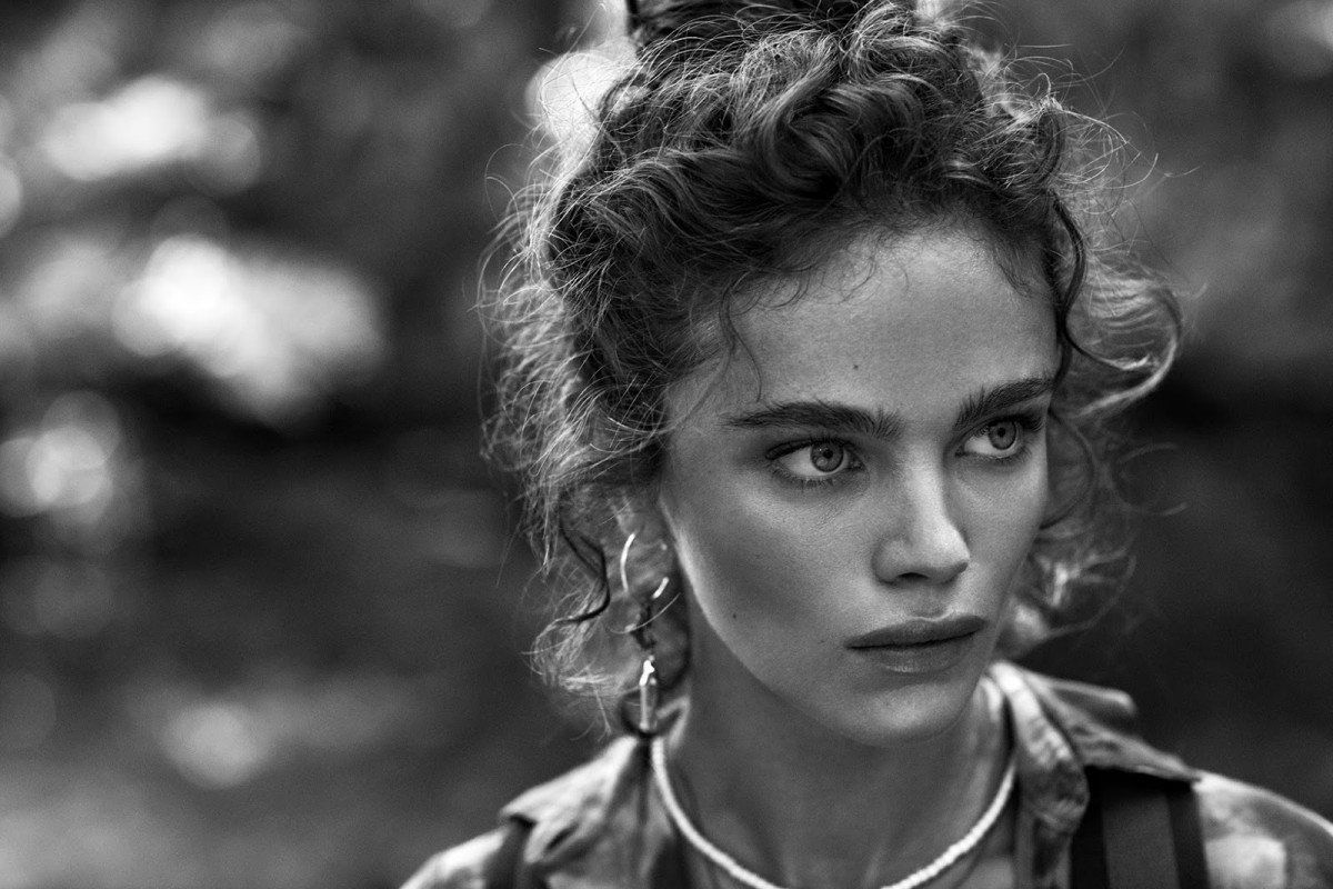 Jena Goldsack by Tomas De La Fuenta for Telva Magazine May 2016