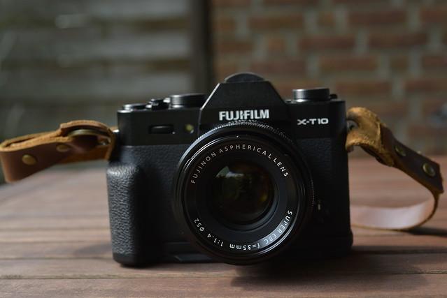 FUJIFILM X-T10+XF35mmF1.4