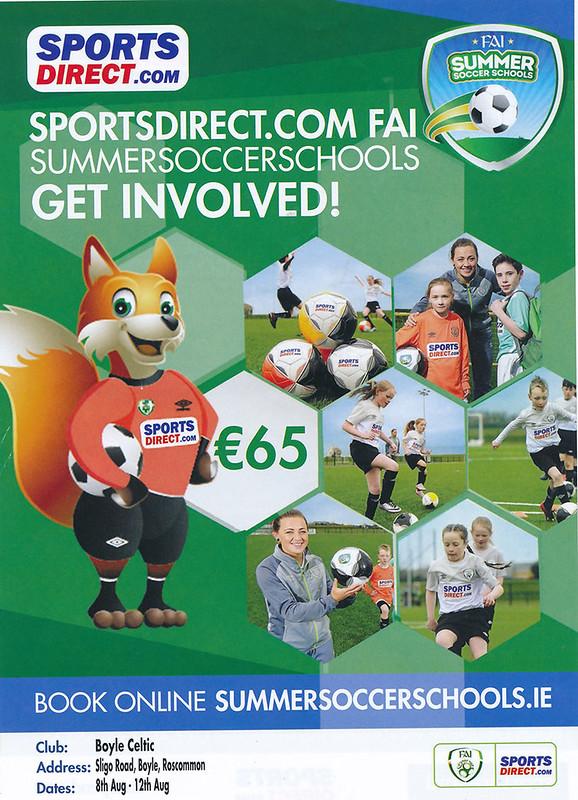 Boyle Celtic Summer Soccer School