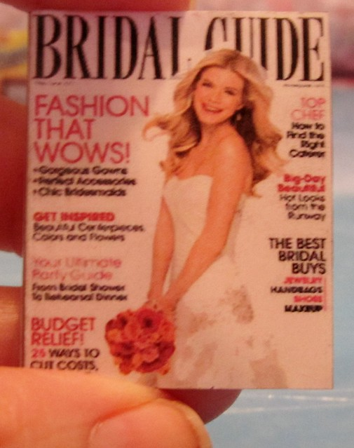 New Barbie Wedding Magazine for the bridal boutique