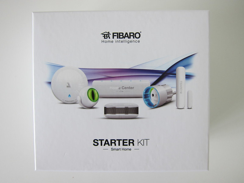 Fibaro Starter Kit - Box Front