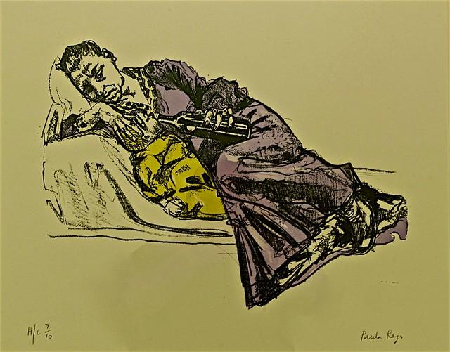 Wine Series Feeding (2007) - Paula Rego (1935)