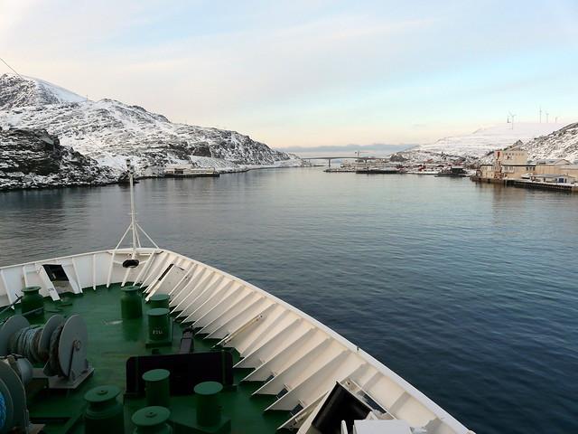 Arrivée à Havøysund