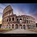 Sunrise at the Colosseum, Rome, Italy :: HDR + 0.6 ND Pro Glass Lee Filter