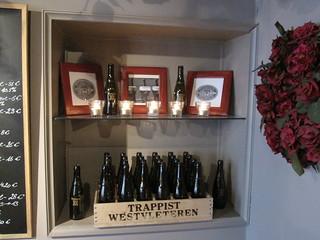 Image of Beer Wall. bar pub belgium brugge bruges flanders westflanders belgia westvleteren westvleteren12 beerpub caferosered