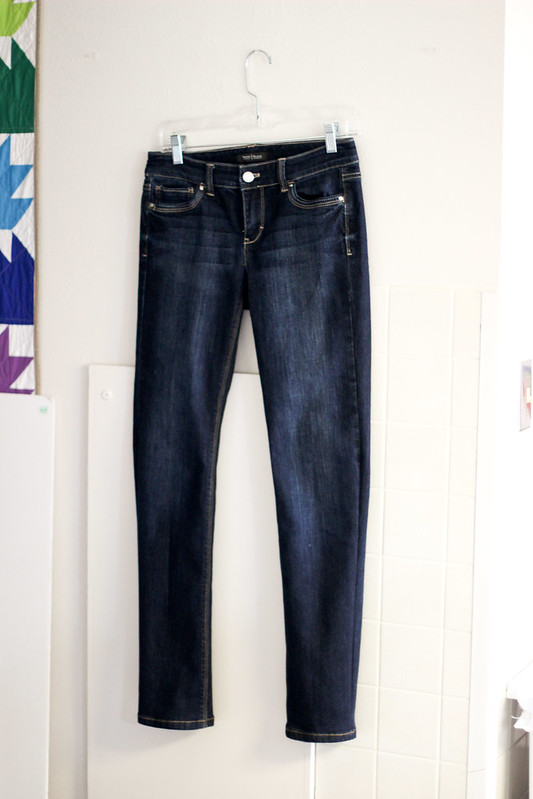 Jeans Refashion - After