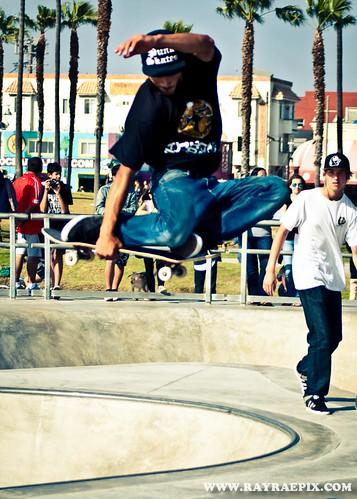 Venice Beach Skatepark, Sean Johnson 5-11-13
