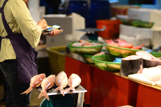 2013.05.12 基隆 / 崁仔頂漁市場