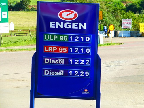 R12.10 per liter = US$4.99 per gallon