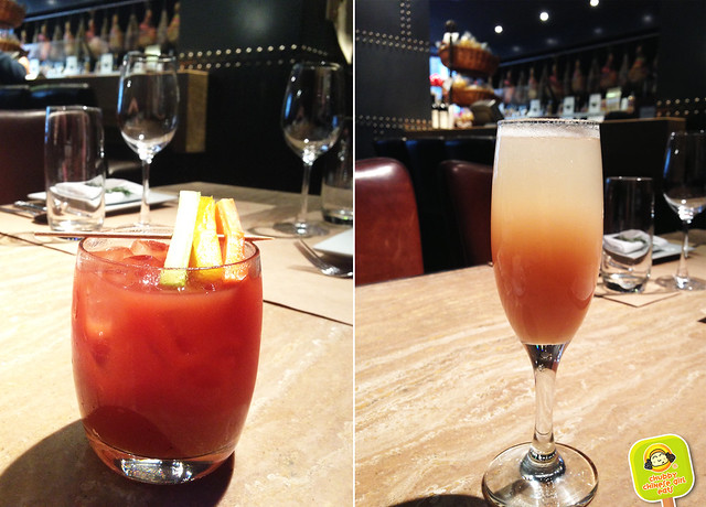 salumeria rosi - bloody mary and bellini