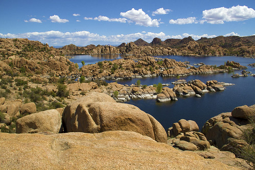 arizona landscapes rocks day lakes pwpartlycloudy