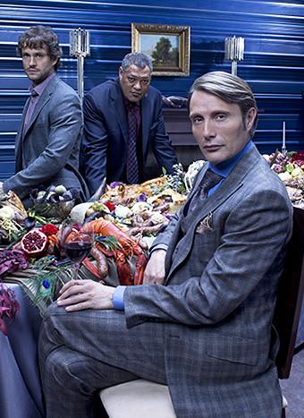 "O elenco principal de ""Hannibal"""