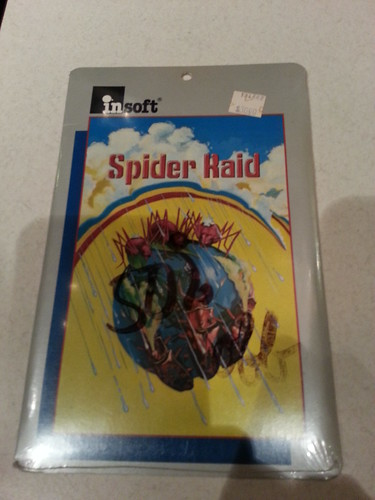 Spider Raid (insoft, Apple II, 1983) front of package