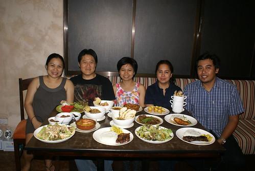 bloggers at wambas bistro