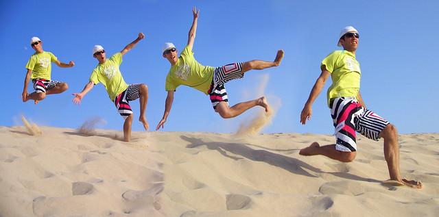 En la duna de Bolonia!
