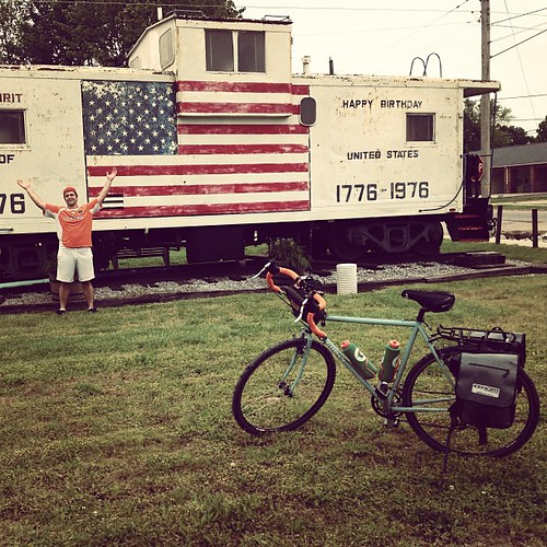 Memorial Day Caboose #katytrail
