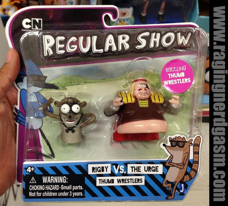 Cartoon Network Regular ShowThumb Wrestlers Rigby the Urge