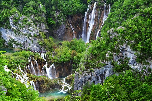 Big Waterfall, Veliki Slap, Plitvice Lakes National Park, Croatia