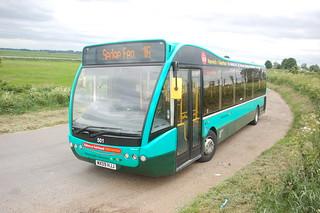 Norfolk Green 501 MX09HJJ (c) Colin Apps