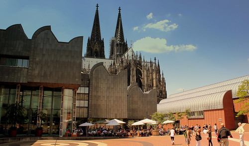 LUDWIG MUSEUM AND DOM KOLN GERMANY JUNE 2013