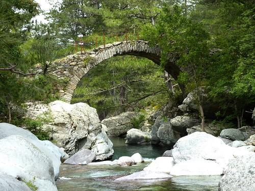 Boucle de la Tartagine : le pont génois de la Tartagine