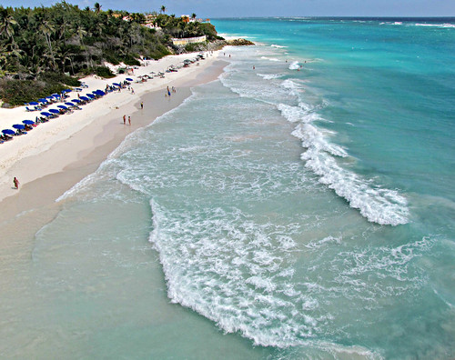 ocean sea beach island islands seaside tourists shore beaches tropical barbados caribbean swimmers sunbathing westindian cranebeach bajan sandybeaches southeastcoast lesserantilles sandraleidholdt leidholdt