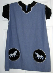 finished horse tunic