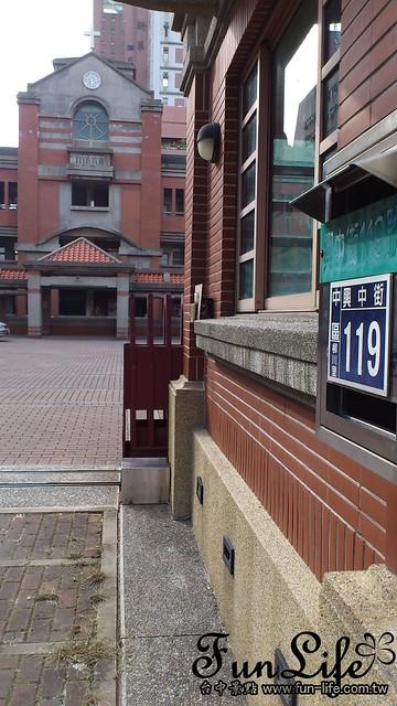 台中景點 柳原教堂@台中中區興中街119號